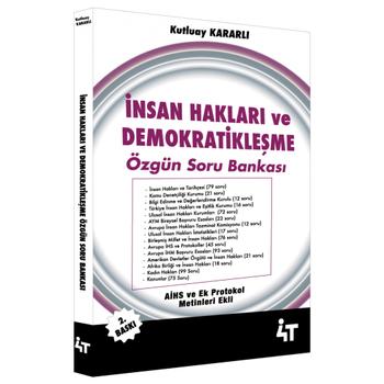 4T Ýnsan Haklarý ve Demokratikleþme Özgün Soru Bankasý 4T Yayýnevi 2019