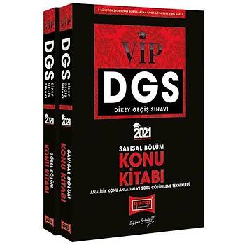 Yargý Yayýnlarý 2021 DGS VIP Sayýsal – Sözel Bölüm Konu Kitabý Seti