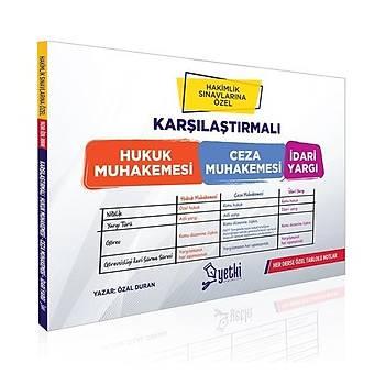 Hakimlik Ýçin Karþýlaþtýrmalý Hukuk Muhakemesi, Ceza Muhakemesi, Ýdari Yargý Yetki Yayýnlarý 2020
