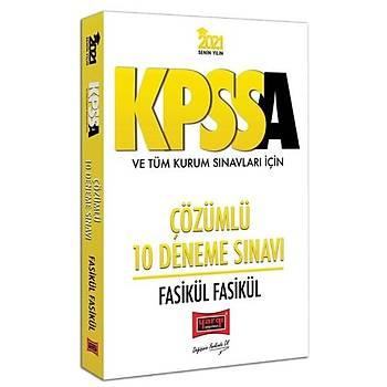 KPSS A Grubu ve Tüm Kurum Sýnavlarý Ýçin Çözümlü 10 Fasikül Deneme Sýnavý Yargý Yayýnlarý 2021