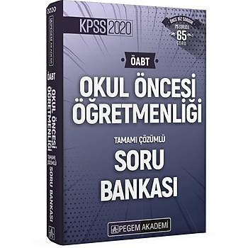 2020 KPSS ÖABT Okul Öncesi Öðretmenliði Tamamý Çözümlü Soru Bankasý