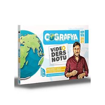 Benim Hocam Yayýnlarý 2021 KPSS Coðrafya Video Ders Notu Mehmet Eðit