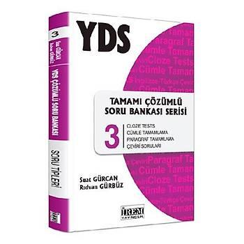 YDS Tamamý Çözümlü Soru Bankasý Serisi 3 Rýdvan Gürbüz, Suat Gürcan Ýrem Yayýnlarý