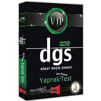 Yargý Yayýnlarý 2018 DGS VIP Çek Kopartlý Yaprak Test