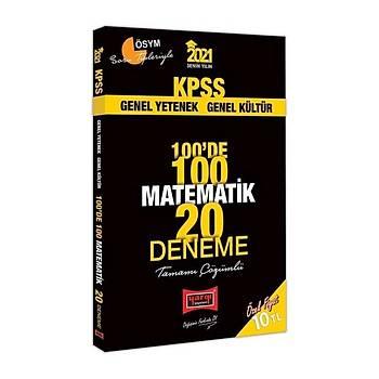 Yargý 2021 KPSS Matematik 100 de 100 20 Deneme Çözümlü Yargý Yayýnlarý