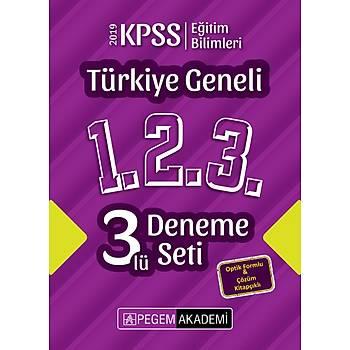 2019 KPSS Eðitim Bilimleri Türkiye Geneli Deneme (1.2.3) 3`lü Deneme Seti