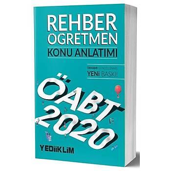 ÖABT Rehber Öðretmenliði Konu Anlatýmlý Yediiklim Yayýnlarý 2020