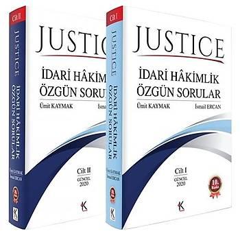 JUSTICE Ýdari Hakimlik Özgün Sorular - Ümit Kaymak, Ýsmail Ercan Aðustos 2020