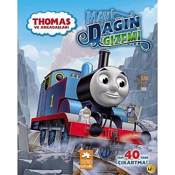 Thomas ve Dinozor / Mavi Dað Çift Taraflý Hikaye Kitabý