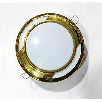 Downlight Enerji Tasarruflu 28W Sýva Altý Spot Armatür-Gold