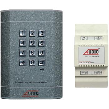 Audio KGK 150 Tuş Takımlı Kapı Giriş Kontrol Kiti + Santral