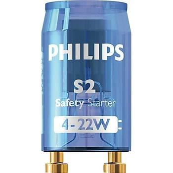 Philips Starter S2 4-22W 220-240V Blue