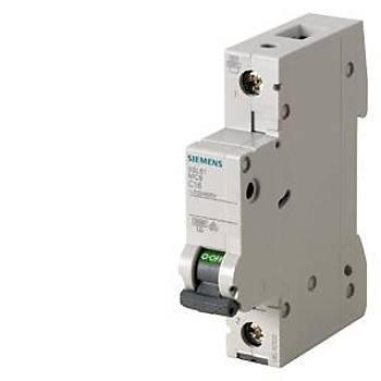 Siemens C Tipi 1X4A 6kA Otomatik Sigorta 5SL6104-7 5SL6104-7