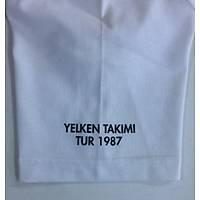 CAS-72 Kýsa Kollu O Yaka Tshirt