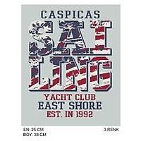 CAS-47 Kýsa Kollu V Yaka Tshirt