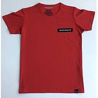 CAS-102 Kýsa Kollu O Yaka Tshirt