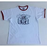CAS-40 O Yaka Baskýlý Tshirt