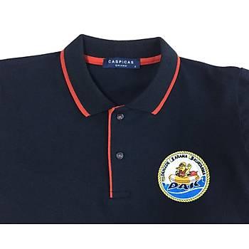 CAS-191 Uzun Kollu Polo Pike Tshirt