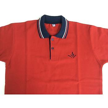 CAS-111 Kýsa Kollu Polo Pike Okul Tshirt