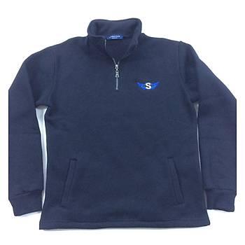 CAS-137 Yarým Fermuarlý Sweatshirt