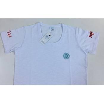 CAS-181 O Yaka Baskýlý Tshirt