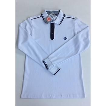 CAS-143 Uzun Kollu Polo Pike Tshirt