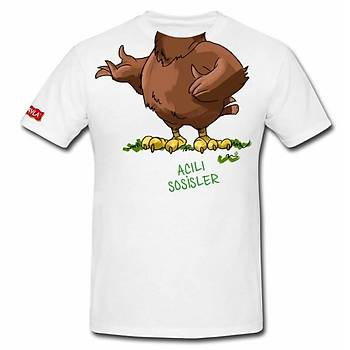 CAS-92 Süblimasyon Baskýlý O Yaka Tshirt