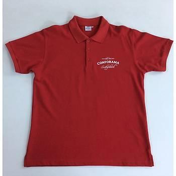CAS-93 Kýsa Kollu Polo Yaka Pike Tshirt