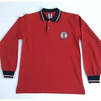 CAS-35Uzun Kollu Polo Yaka Pike Tshirt