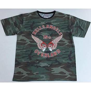 CAS-186 Komando Desenli Tshirt ve Sweatshirt