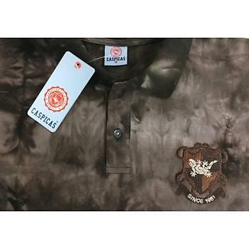 CAS-76 Batik Desenli Polo Yaka Pike Tshirt