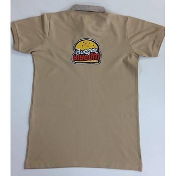 CAS-105 Poplin Yakalý (Gömlek Yakalý) Personel Polo Pike Tshirt