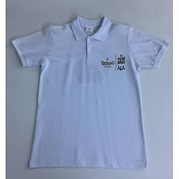 CAS-55 Kýsa Kollu Polo Yaka Pike Tshirt