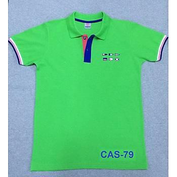 CAS-79 Kýsa Kollu Polo Pike Tshirt