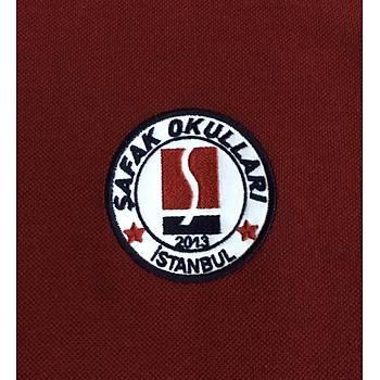 CAS-75 Kýsa Kollu Polo Yaka Pike Tshirt