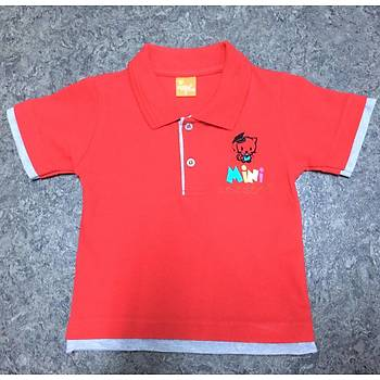 CAS-58 Kýsa Kollu Polo Yaka Pike Tshirt