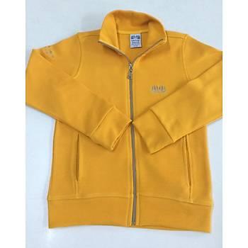 CAS-56 Dik Yaka Fermuarlı Sweatshirt