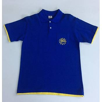 CAS-66 Kýsa Kollu Polo Yaka Pike Tshirt