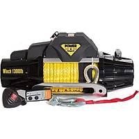 Power Winch 13000 lb Sentetik Halatlý Off-Road Vinç (S Serisi) 12V
