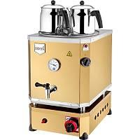 Remta 2 Demlikli Jumbo Çay Makinesi Gazlý+Elektrikli CE Belgeli 23 lt