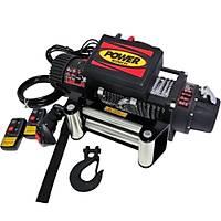 Power Winch 13000 lb Çelik Halatlý Off-Road 4x4 Elektrikli Vinç 12V