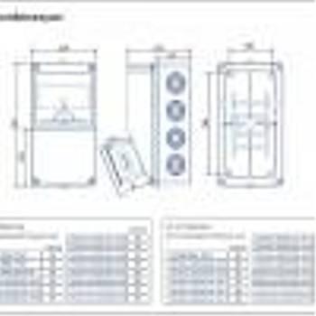 3x32A 380V V5 3lü Kombinasyon Kutusu BD1-2106-2020