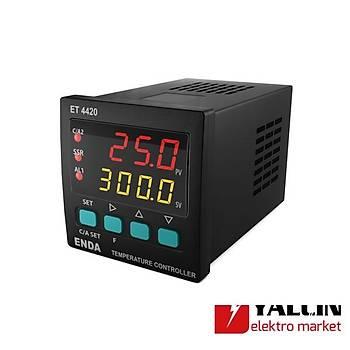 ET4420 Dijital PID  Sýcaklýk Kontrol Cihazlarý 24VAC - ET4420-24VAC