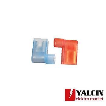 GPFDEB-2862 1,50- 2,50 mm2 Naylon Tam Ýzoleli Bayrak Tip Terminaller