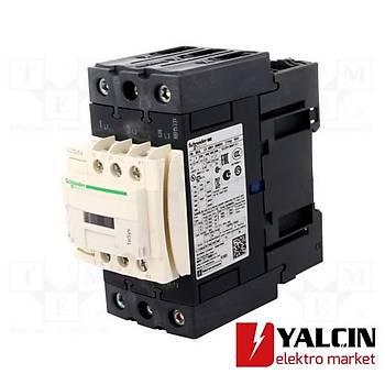 65A (30 KW) 24VAC Bobinli Trifaze Güç Kontaktörü  LC1D65AB7