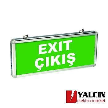 Exiled Exit Çift Yön 3W 3 Saat Yönlendirme Armatürü 203890