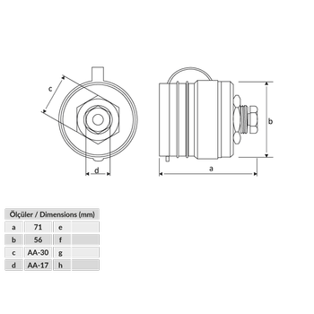 Kauçuk Ark Kaynak 16/95mm2 200A. Makine Priz BK4-7501-2410