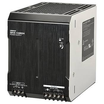 Kitap tipi güç kaynaðý, LITE, 480 W, 24VDC, 20A, DIN ray montaj OMR-S8VK-C48024