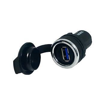 22mm Pano Tipi Diþi-Diþi USB Arayüzü BUSB30