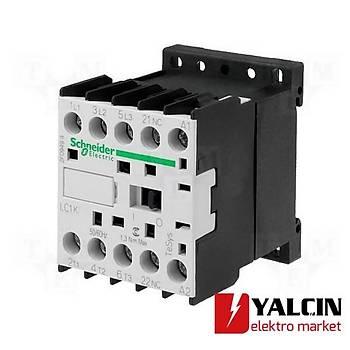 9A (4 KW) 24VAC Bobinli 1NC Kontaklý Mini Kontaktör LC1K0901B7